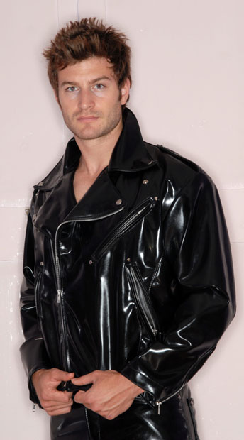 Mens Traditional Bikers Jacket