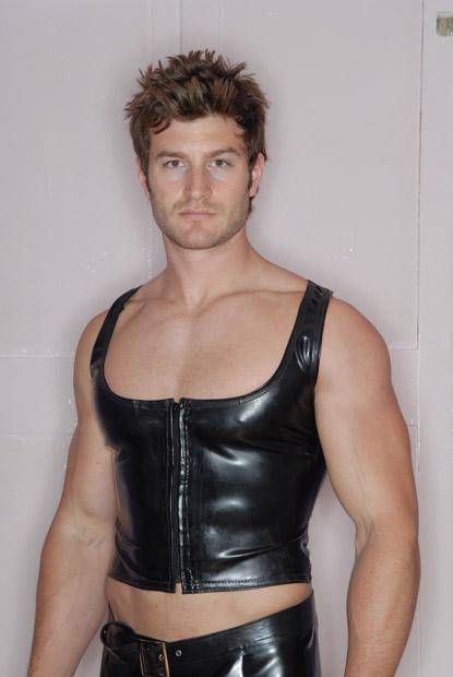 Mens Cropped Vest