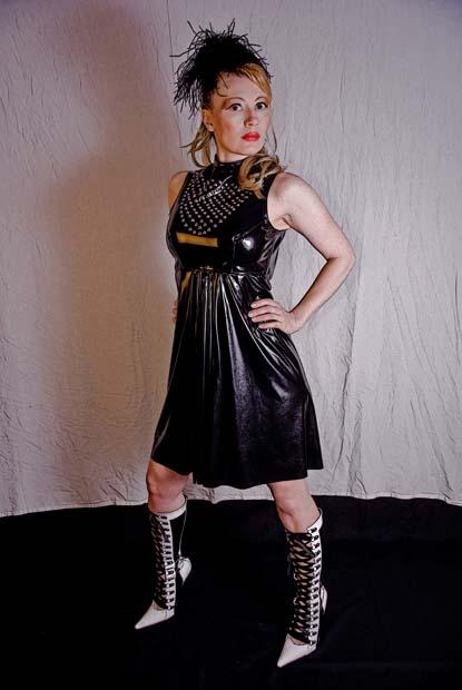 Short Column Dress