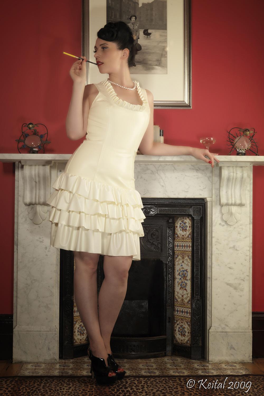 Layered Frilly Dress