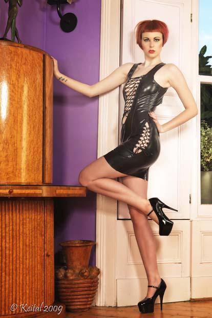 Waistcoat-Style Mini Dress