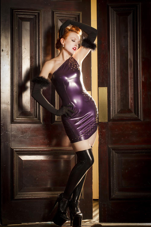 Short Single Shoulder Dress