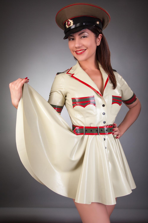 Full Skirted Military dress