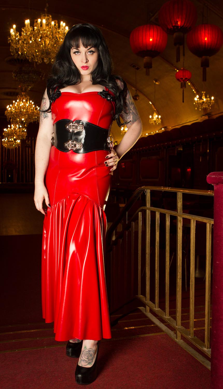 Rose Detail Dress