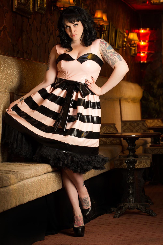 Horizontal Striped Dress