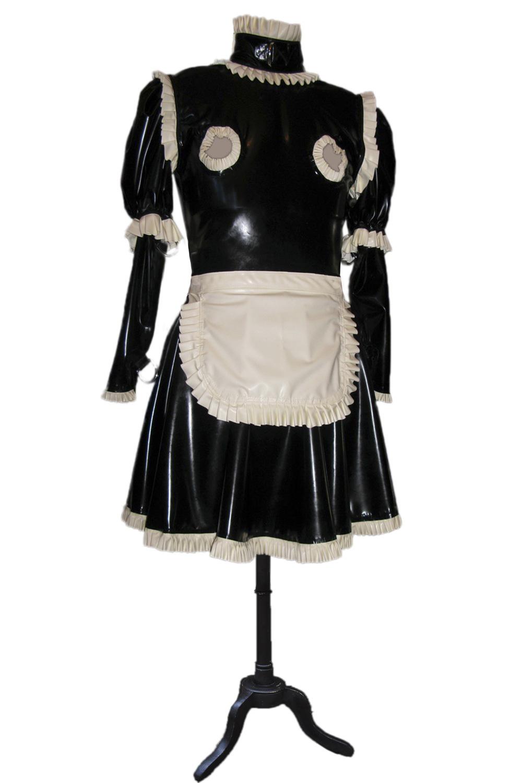 Maids Uniform with Nipple Cutouts