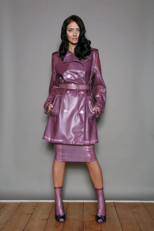 Semi-Transparent Trench coat
